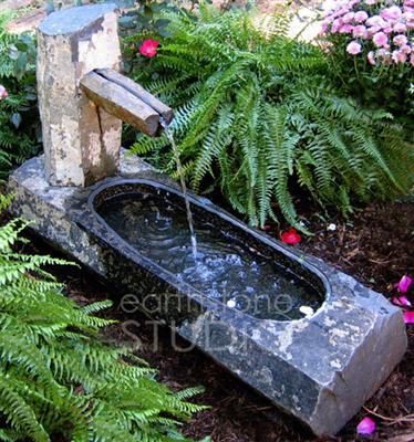 Natural Stone Fountains For Garden Another good resource for stone fountains scfg workwithnaturefo
