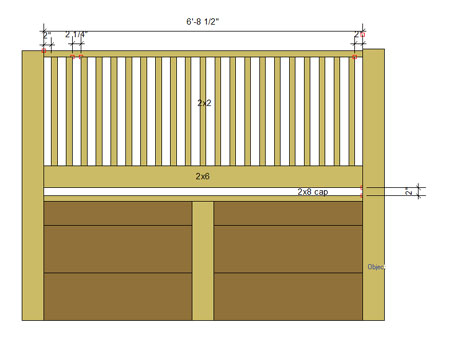 Retaining Wall With Fence Ideas - Best Idea Garden