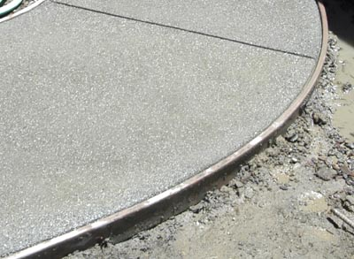 Close Up Of Exposed Concrete Surface